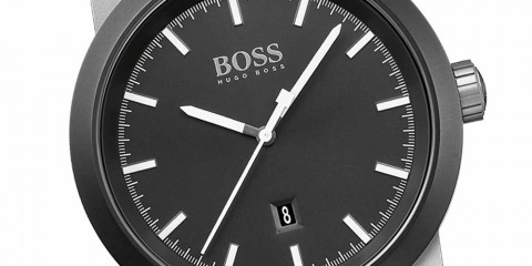 Hugo Boss Watches Black