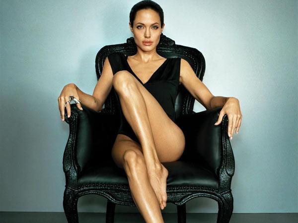 Angelina Jolie... sin palabras