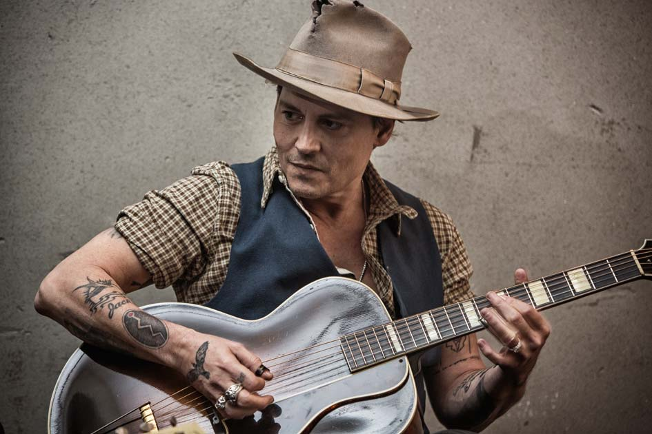 MADMENMAG johnny Depp rodaje videoclip Early Days