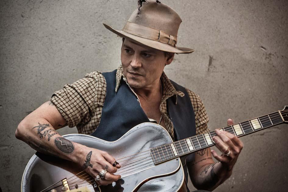 MADMENMAG johnny Depp rodaje videoclip Early Days