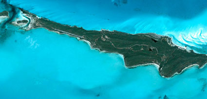 Innocence Island vista aerea madmenmag isla en venta
