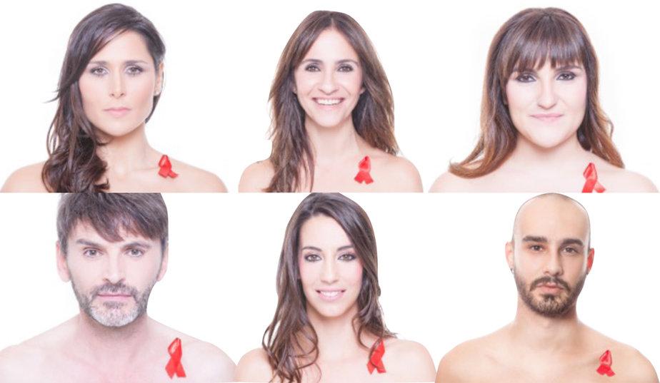 Daniel protagonizó la campaña de la ONG Imagina Más #PonteEnMiPiel junto a varios rostros conocidos.