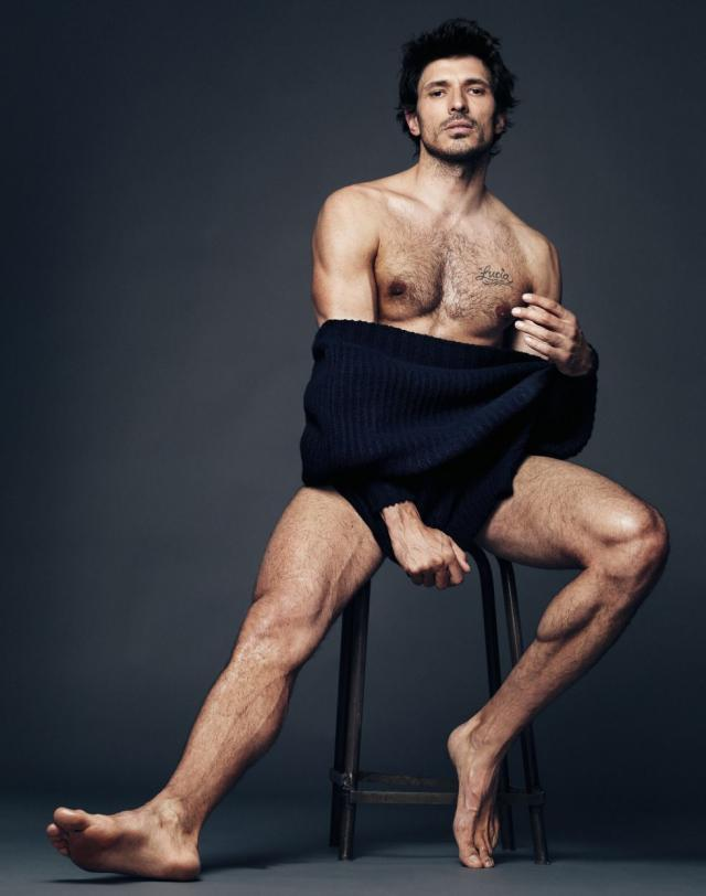 Andres Velencoso trimming depilacion masculina