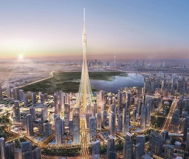 Torre de Dubai Creek Harbour santiago calatrava