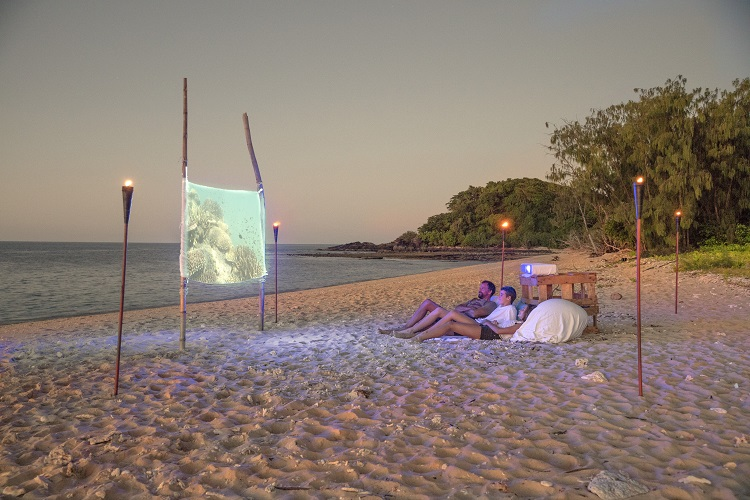 Airbnb Great Barrier Reef cinema