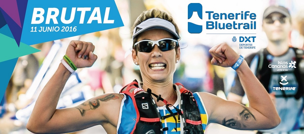 Cartel Tenerife Bluetrail 2016 - Brutal