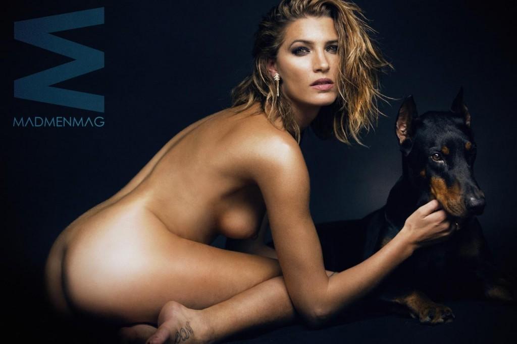 Laura Sanchez MADMENMAG 4