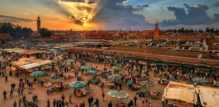 la medina marrakech plaza jamma el fna