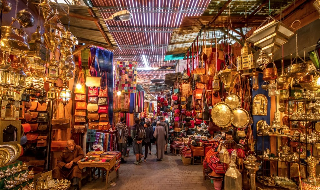 la medina marrakech zoco