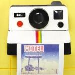 portarollos polaroid diseño madmenmag