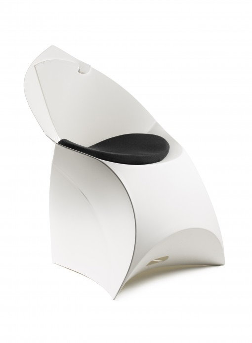 silla plegable con cojin flux madmenmag muebles de diseño
