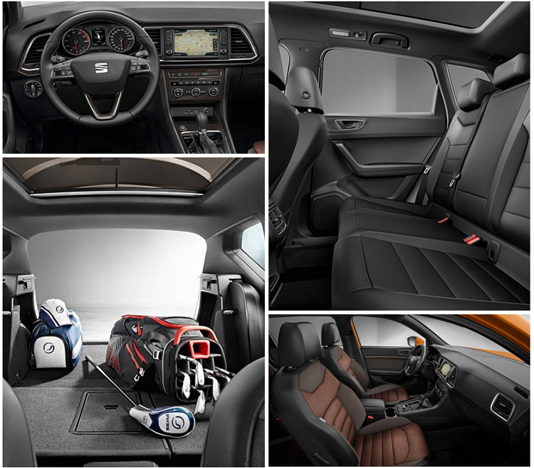 SEAT ATECA MADMENAMG diseño interior espacio