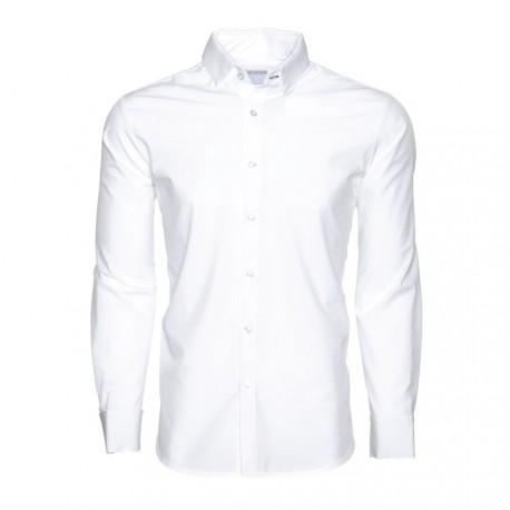 Nueva llegada cy008 mujeres de camisa formal camisa blanca