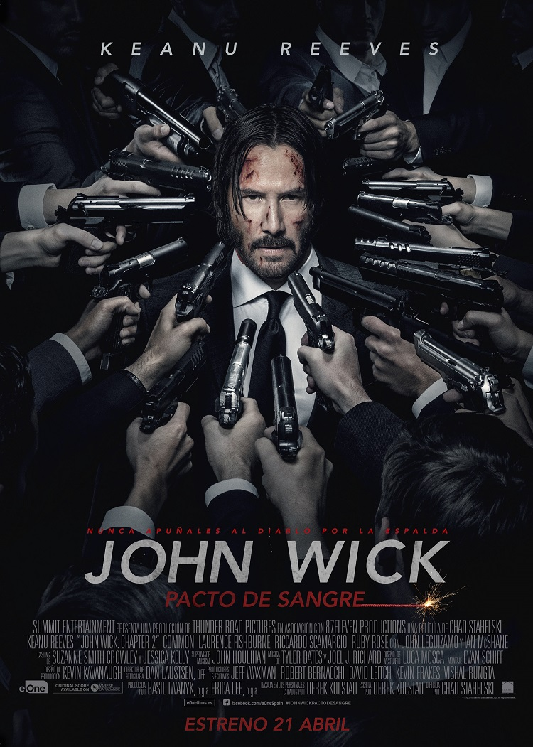 cartel final JOHN WICK madmenmag revista masculina