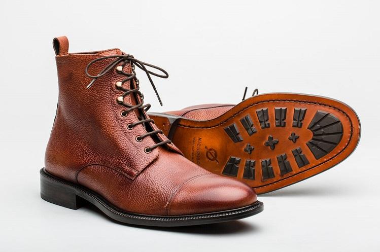 nickolson calzado made in spain calzado hombre moda masculina madmenmag botas marrones altas