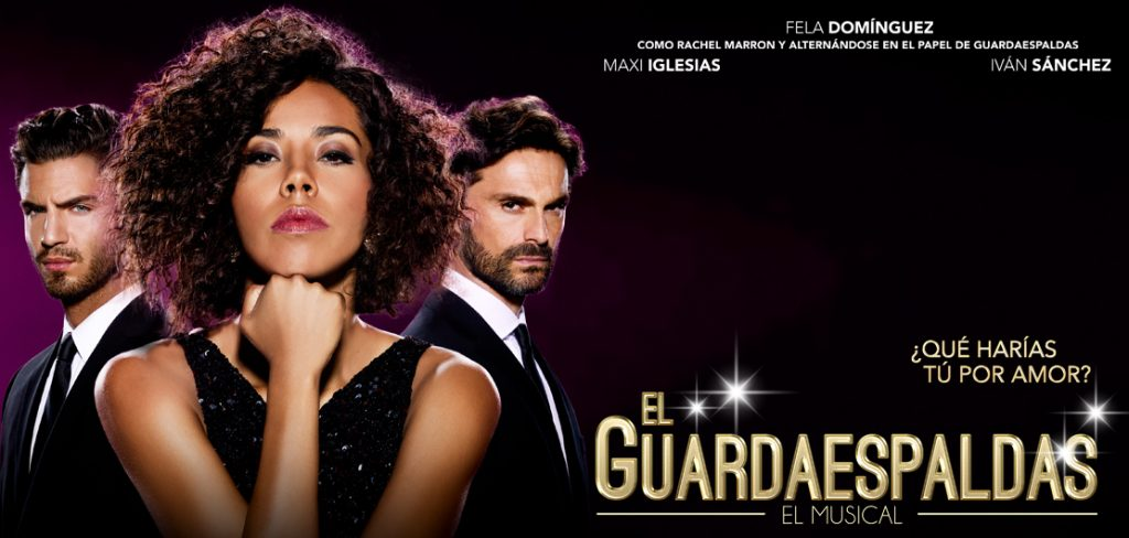 el guardaespaldas musical madrid cartel
