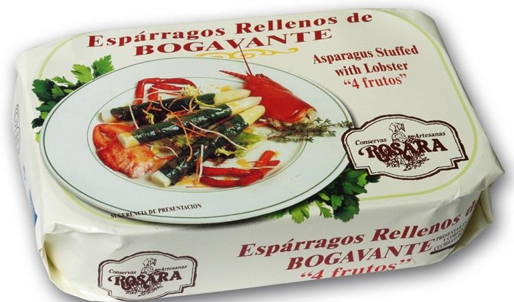 esparragos rellenos bogavante delicatessen gourmet