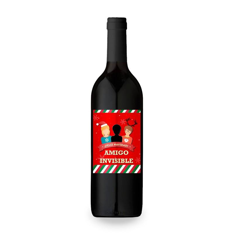 botella de vino personalizada regalo original