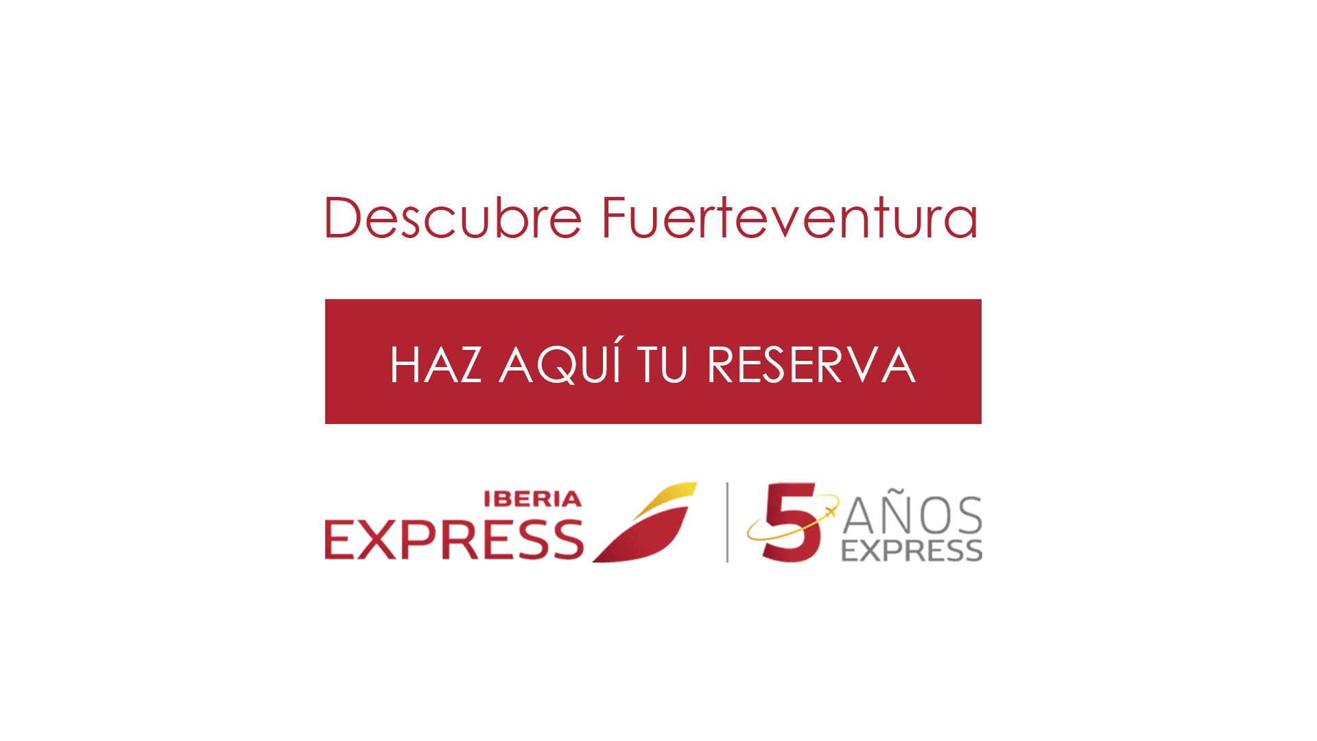 iberia express vuelos fuerteventura