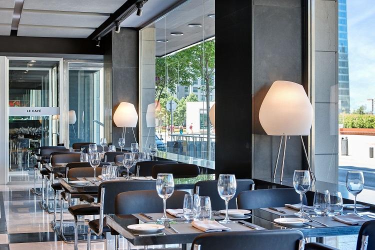 Restaurante en bilbao le caf en hotel domine bilbao - Restaurante hotel domine bilbao ...