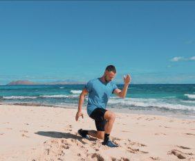 deporte al aire libre entrenamiento pierna madfit