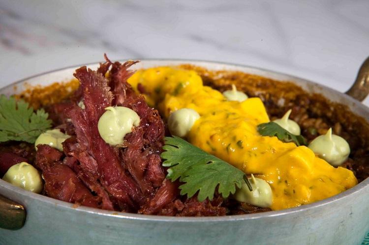 restaurante peruano en madrid arroz con pato la cebicheria