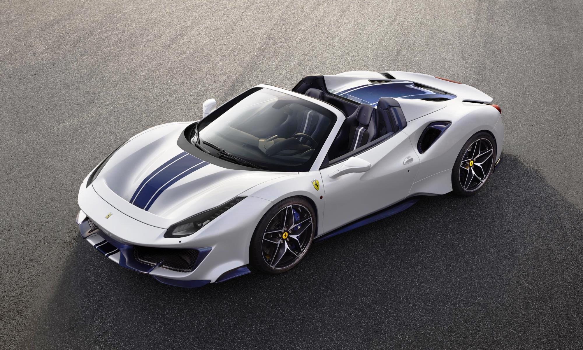 ferrari 488 pista spider pebble beach madmenmag