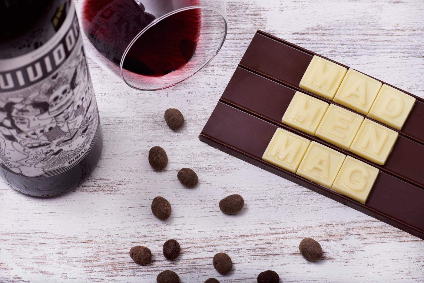 vino y chocolate maridaje gastronomia madmenmag