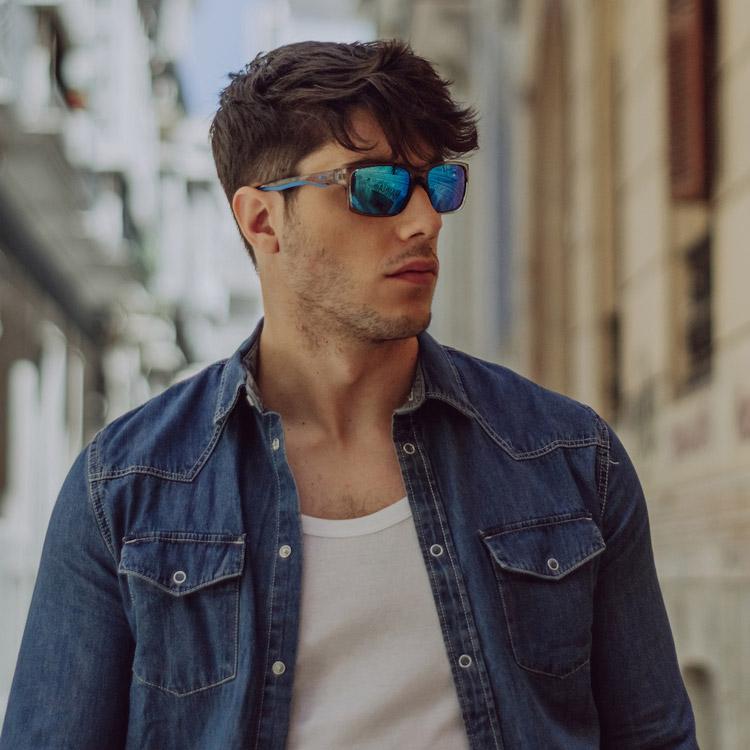 camisa tejana para hombre moda masculina