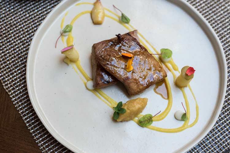 Plato restaurante etxeko madrid