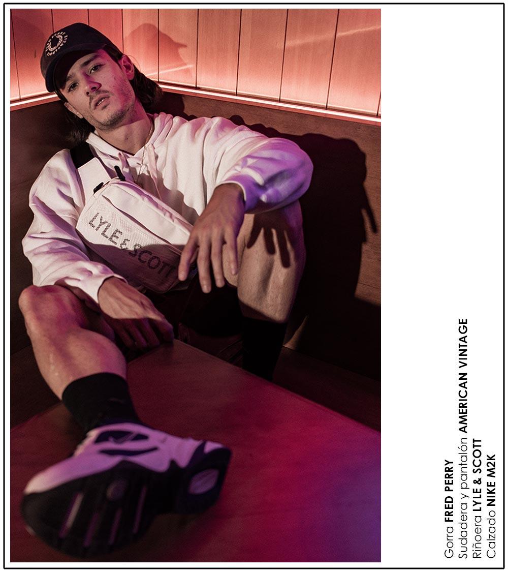 moda streetwear look deportivo diego barrueco