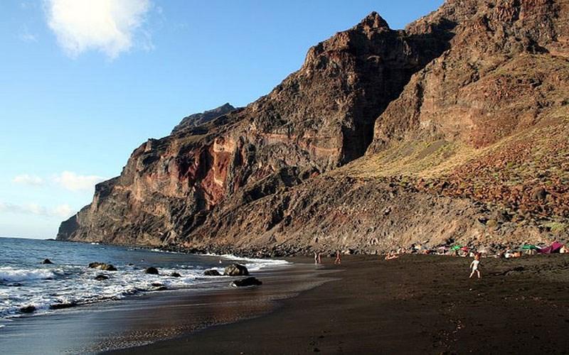 playa del ingles la gomera