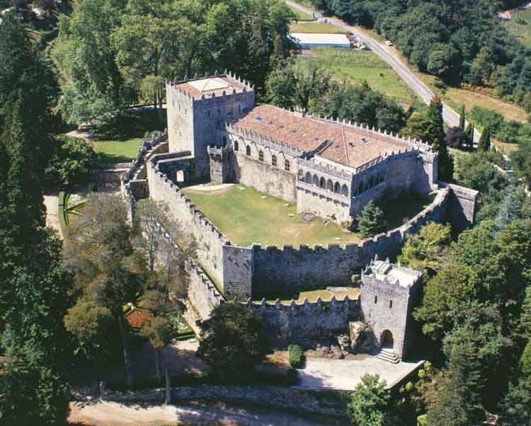 castillo de Suotomaior viajar a galicia
