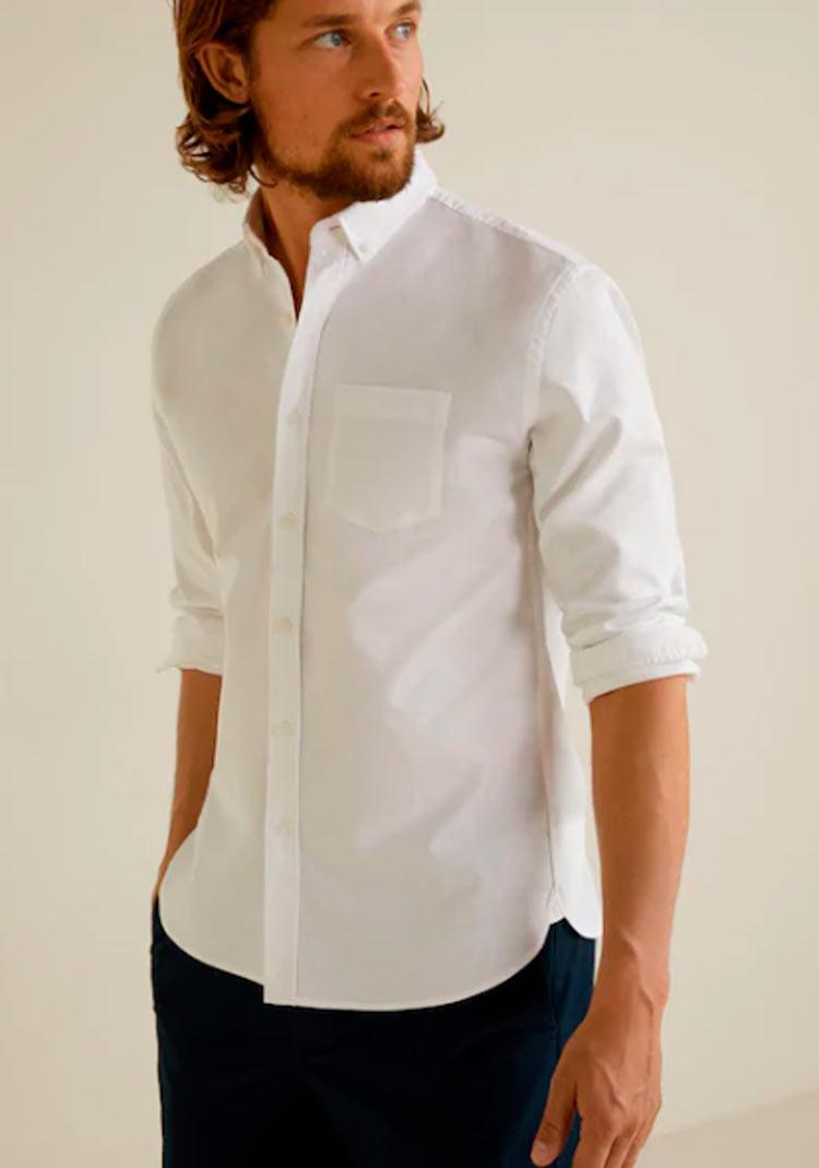 camisa-blanca-tendencia-de-moda-masculina