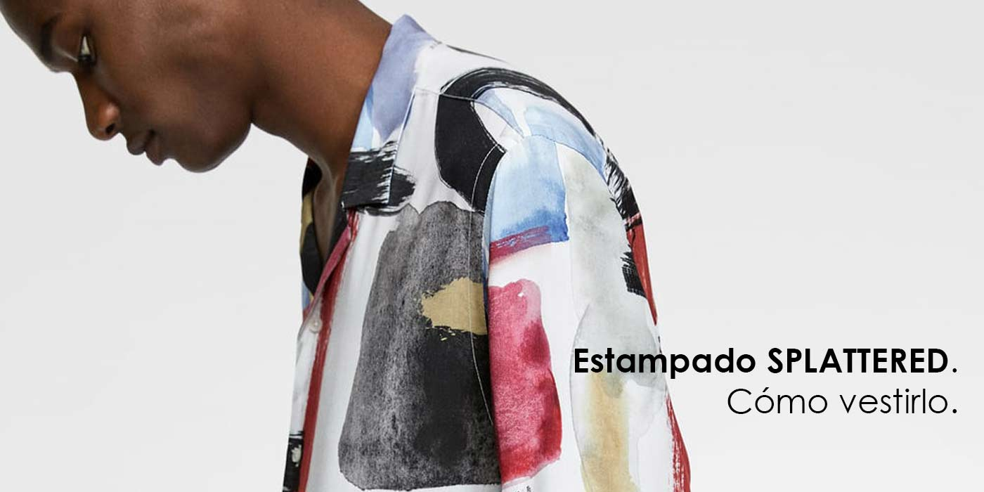 estampado-splattered-camisa-salpicaduras-de-pintura