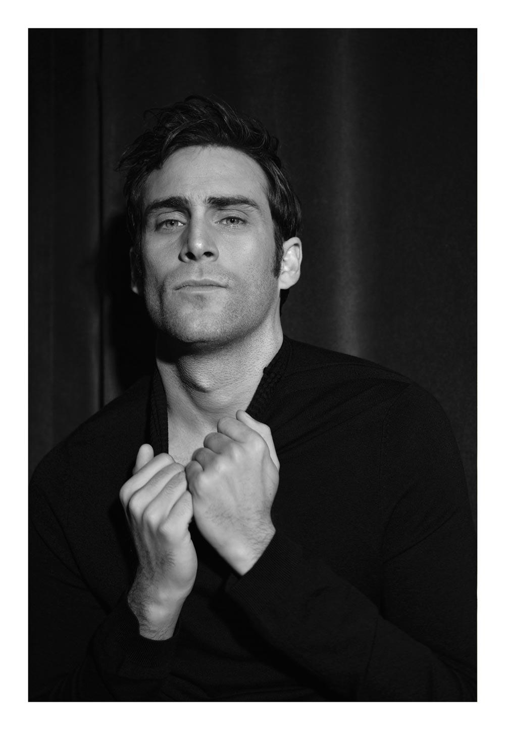 retrato en blanco y negro fernando guallar