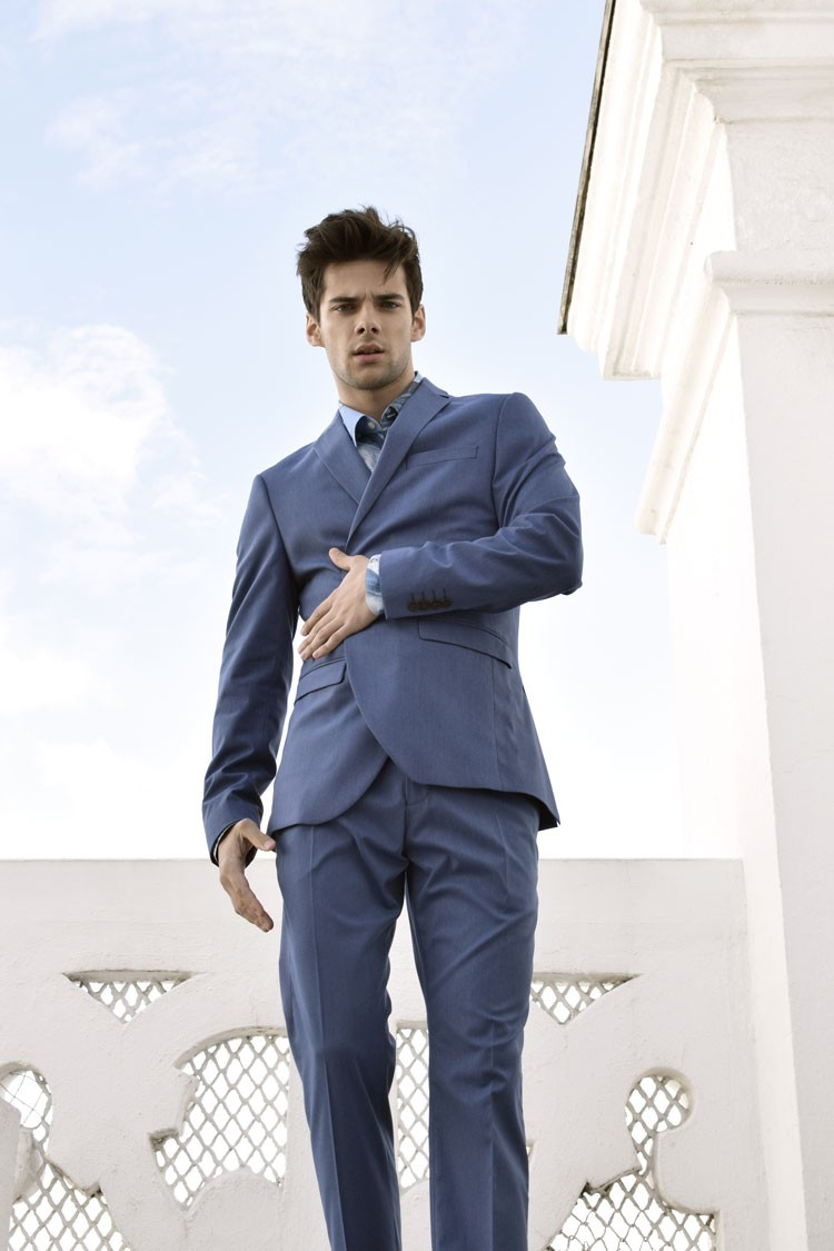 traje selected homme editorial de moda masculina