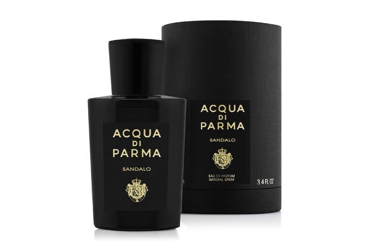 perfume veraniego para hombre sandalo acqua di parma