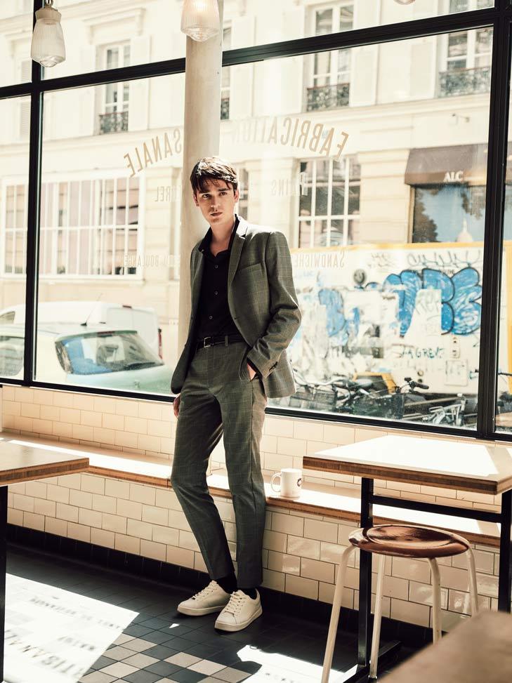 editorial de moda masculina en paris
