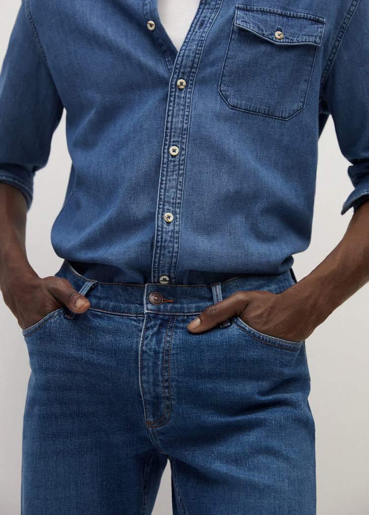 camisa-tejana-para-hombre-moda-masculina