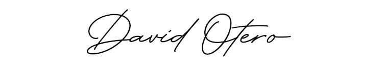 david-otero-autografo