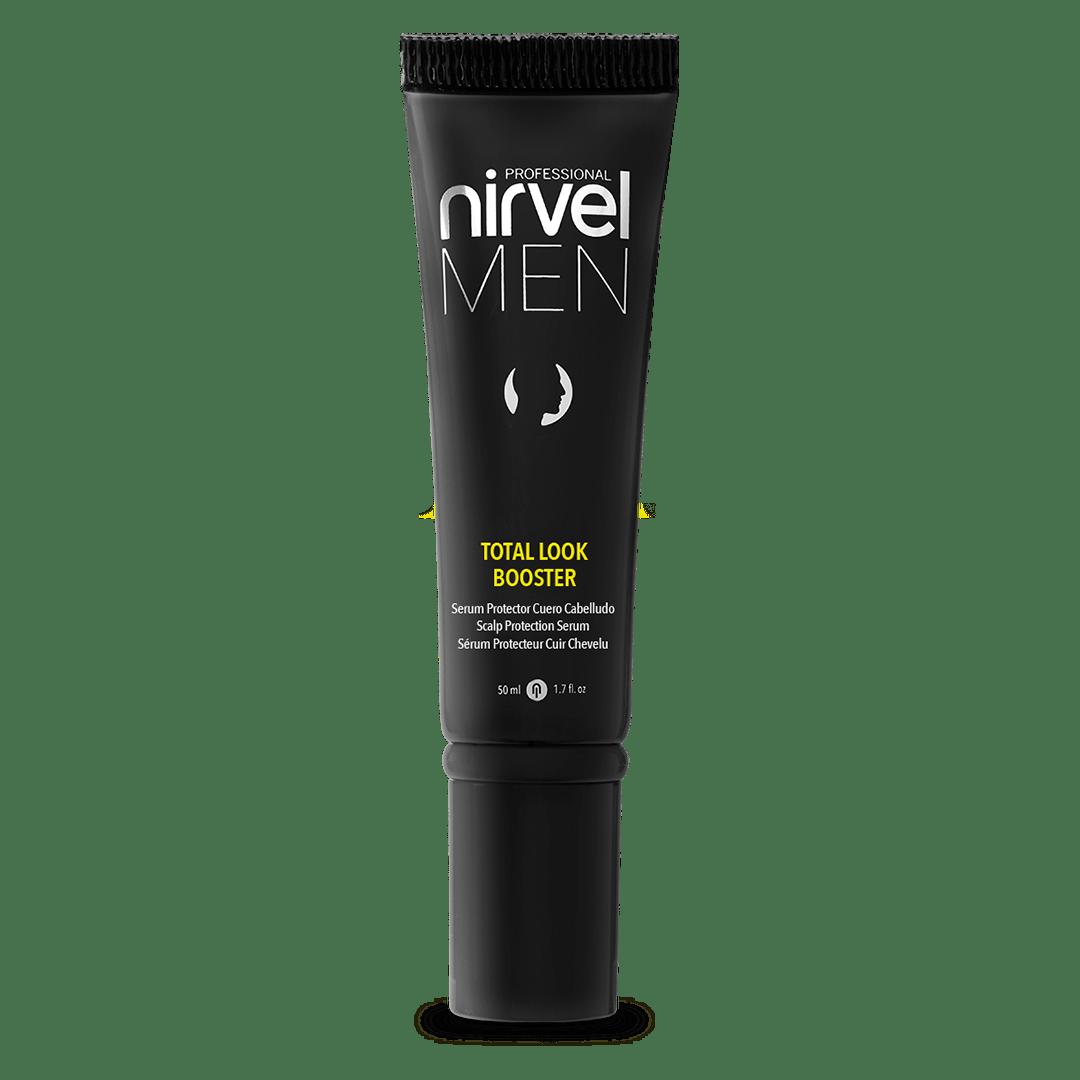 nirvel men total look booster producto para cuidar el cuero cabelludo